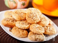 Рецепта Кокосови масленки (маслени сладки) със слънчоглед